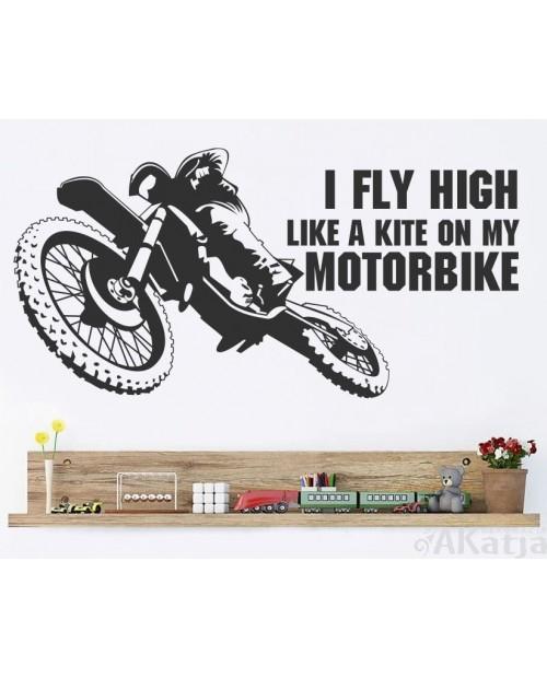 Naklejka Pojazdy I Fly High