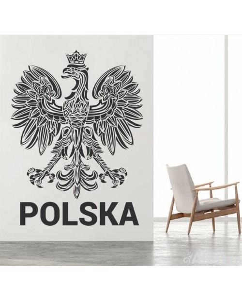 Naklejka Patriotyczna Orzeł Polska