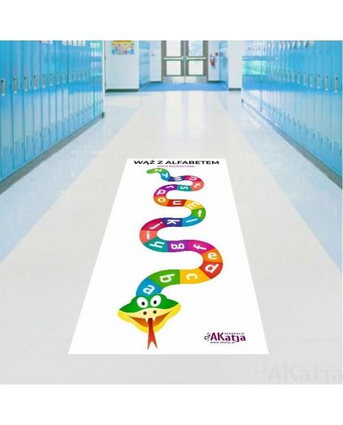 Mata Edukacyjna - Wąż z alfabetem