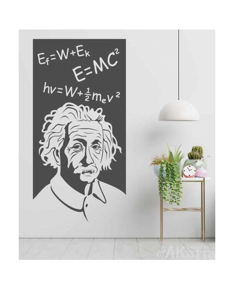 Naklejka postać Albert Einstein