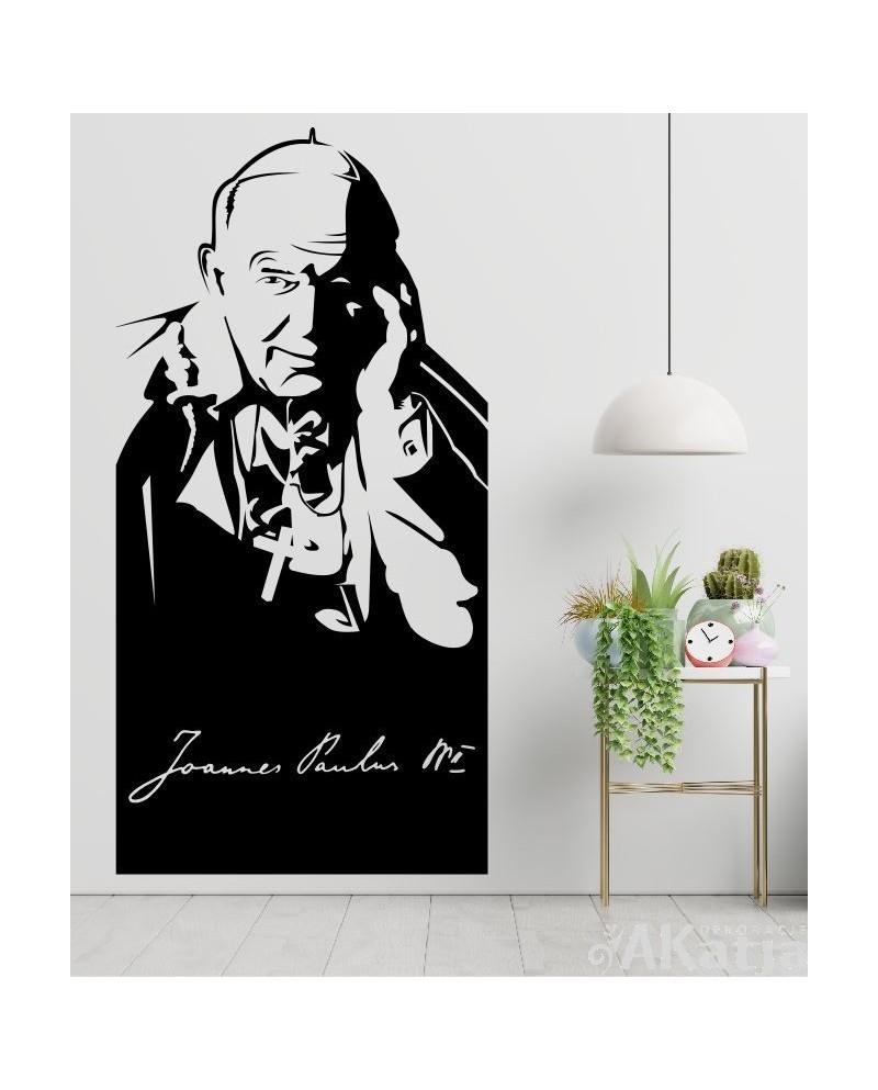 Naklejka postać Jan Paweł II