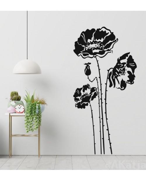 Naklejka Kwiaty Maki