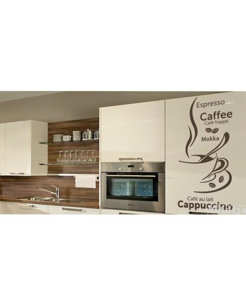 Naklejka do kuchni Cappuccino