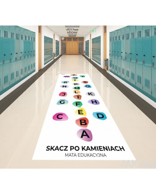 Mata Edukacyjna - Kamienie z alfabetem