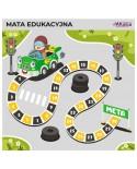 Mata Edukacyjna - Kwadratowy Tor Wyścigowy