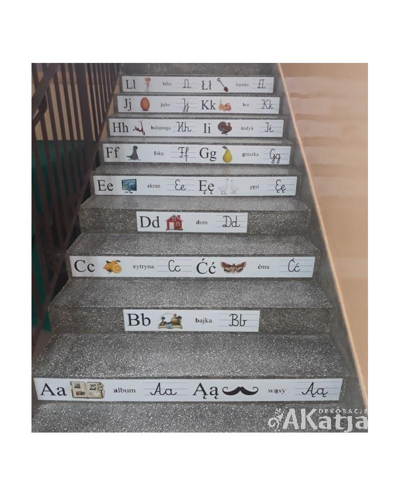 Alfabet na schody