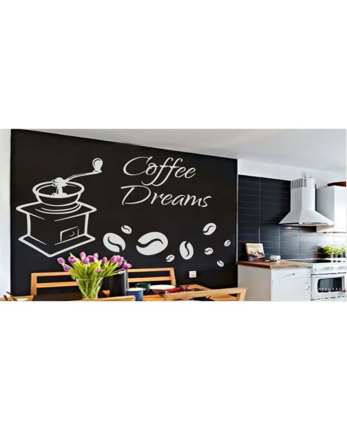 Naklejka do kuchni Coffee Dreams