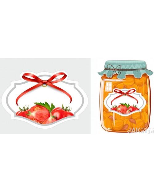 Etykiety przetwory pomidorowe