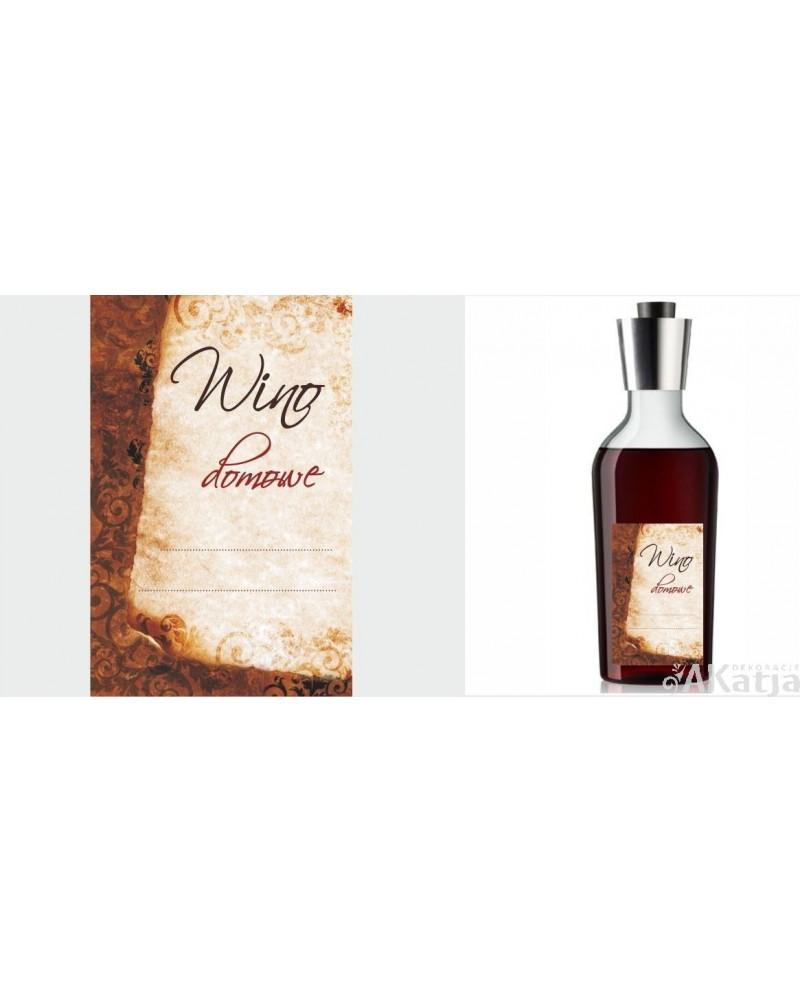 Etykiety Na Wino Domowe Vintage Akatja