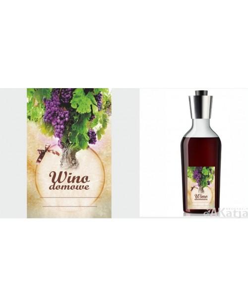 Etykiety na wino domowe