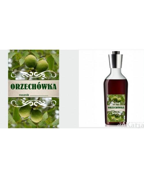 Etykiety na Orzzechówkę