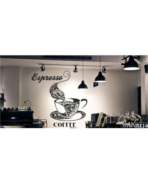 Naklejka do kuchni Espresso