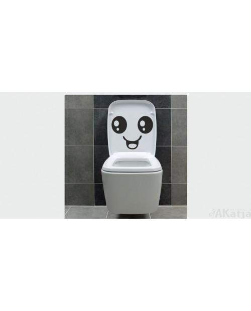 Naklejka do łazienki Uśmiech
