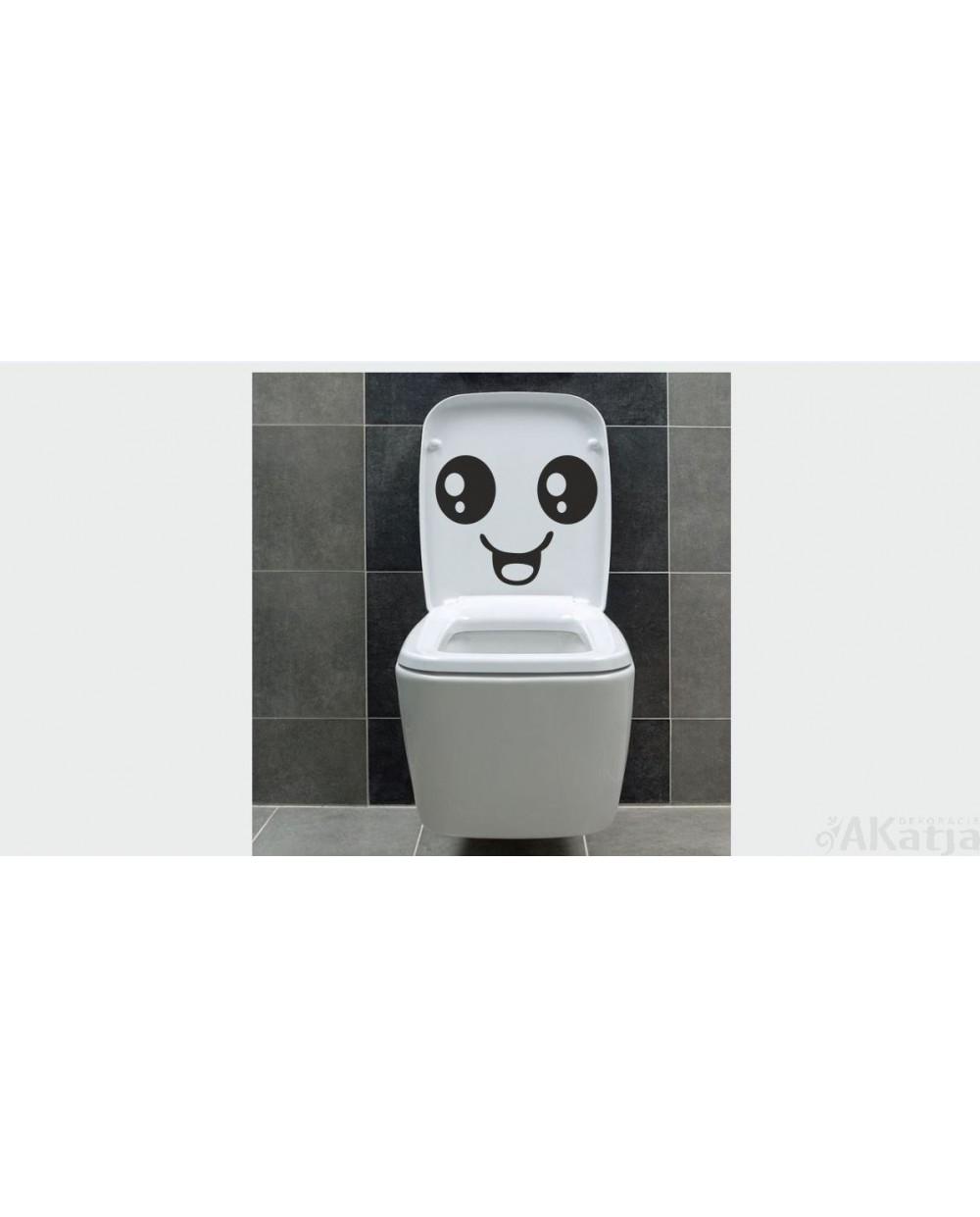 Naklejka Do łazienki Uśmiech Akatja