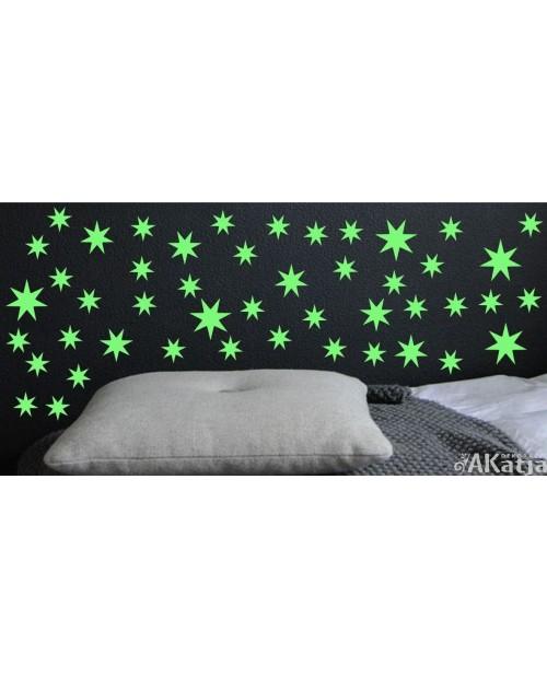 Naklejka świecąca w nocy gwiazdki