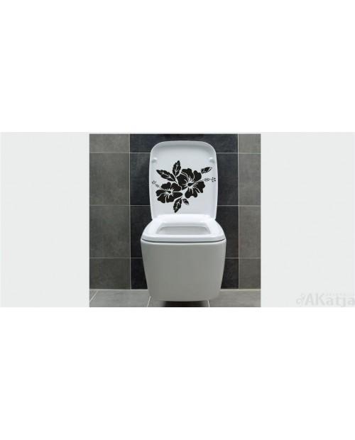 Naklejka do łazienki Hibiskusy