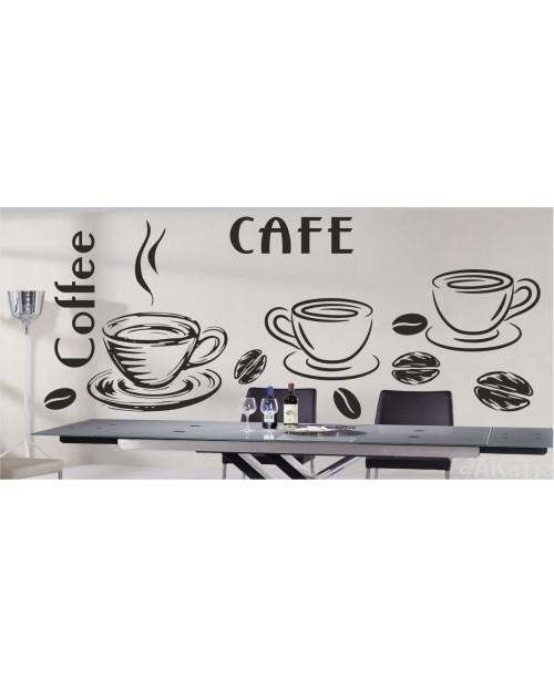 Naklejka  do kuchni cofe coffee