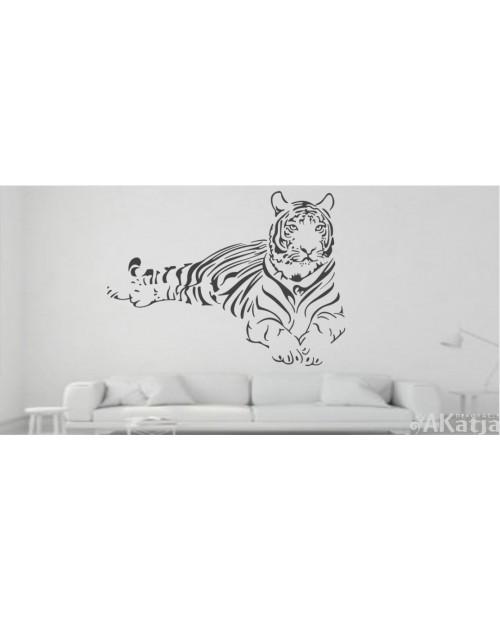 Naklejka Zwierzęta Tygrys