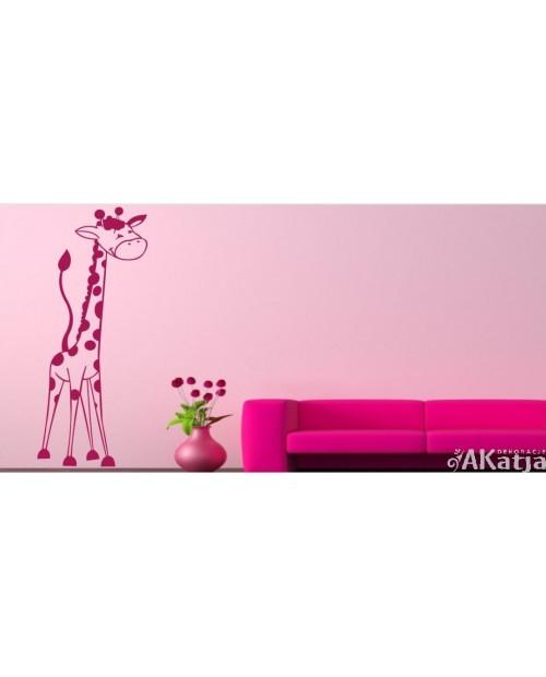 Naklejka Zwierzęta Żyrafa