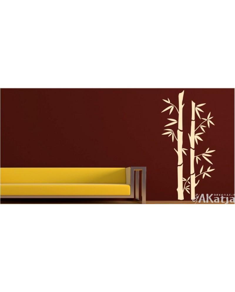 Naklejka Bambusy