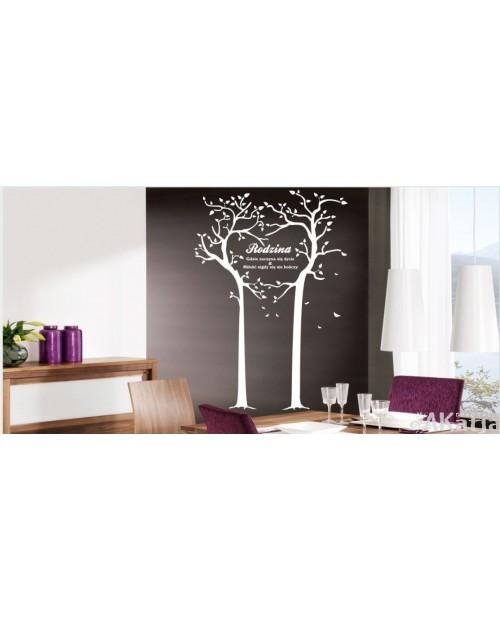 Naklejka Drzewo Rodzina