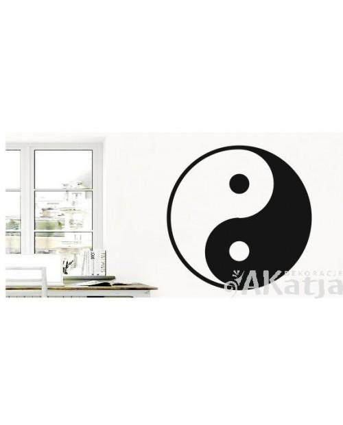 Naklejka Chiński Znak  Ying Yang