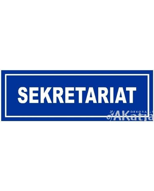 Tabliczka Sekretariat