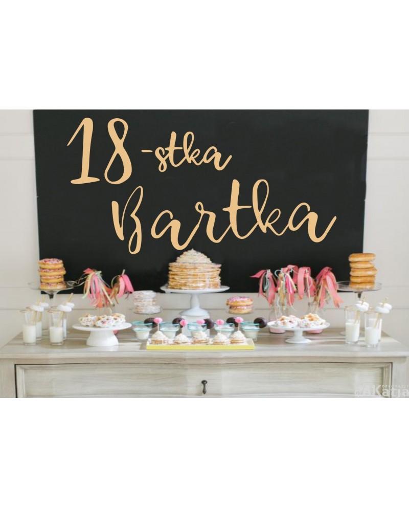 Naklejka urodzinowa
