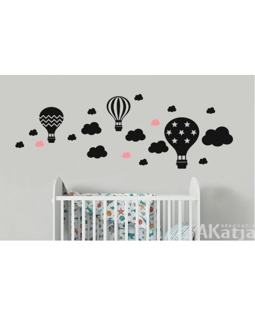 Balony i chmurki