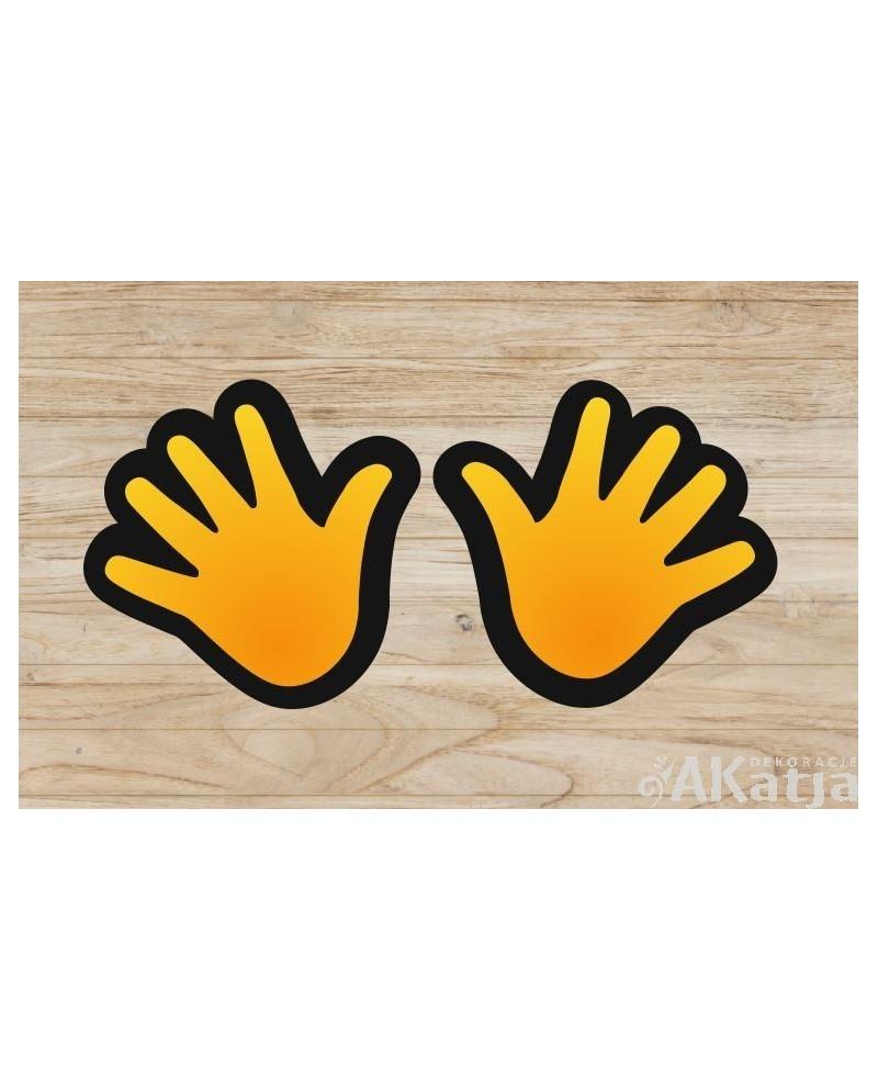 Kolorowe ręce