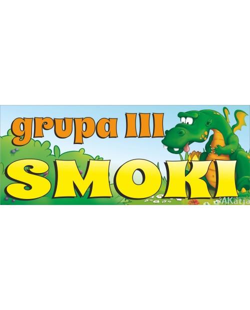 Tabliczka Grupa Smoki
