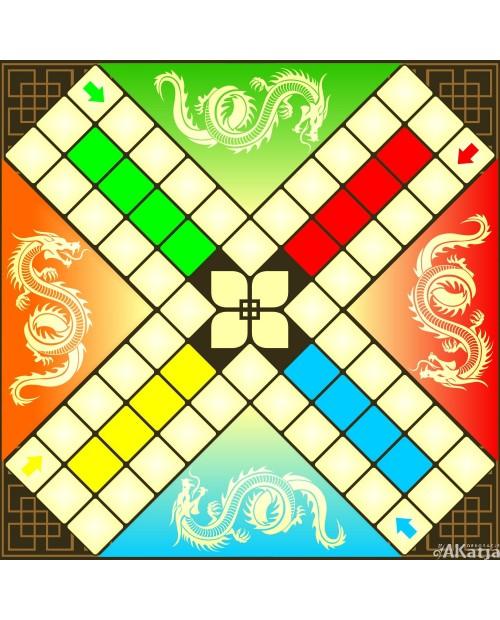 Chińczyk - gra podłogowa