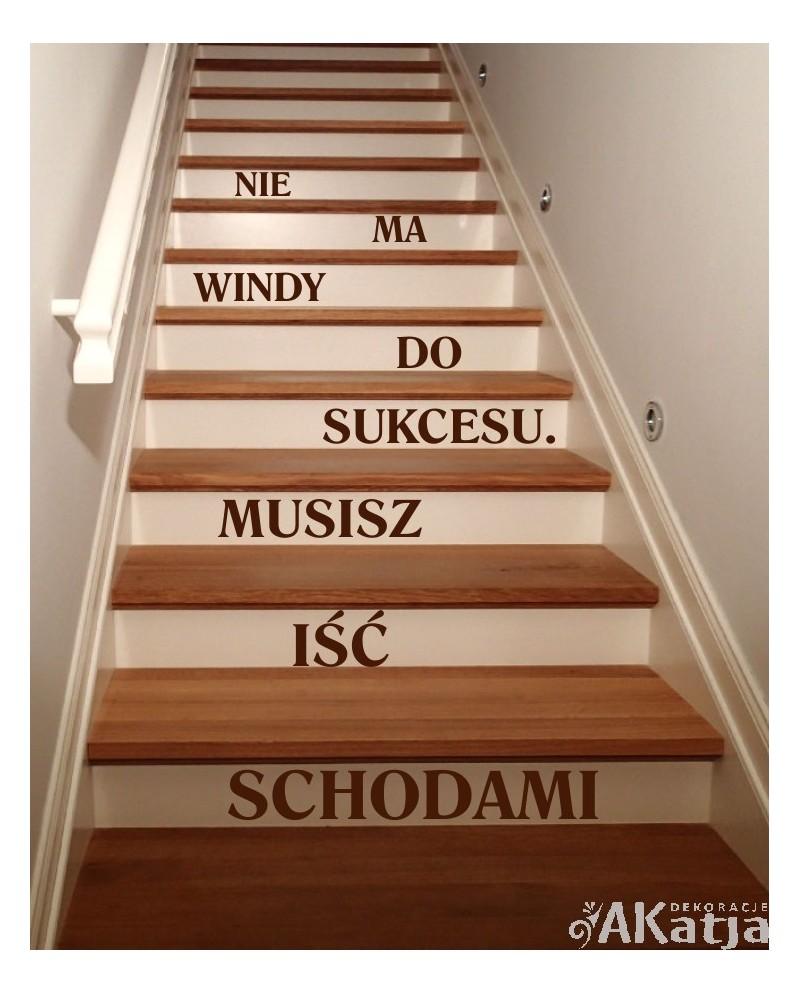 nie ma windy do sukcesu