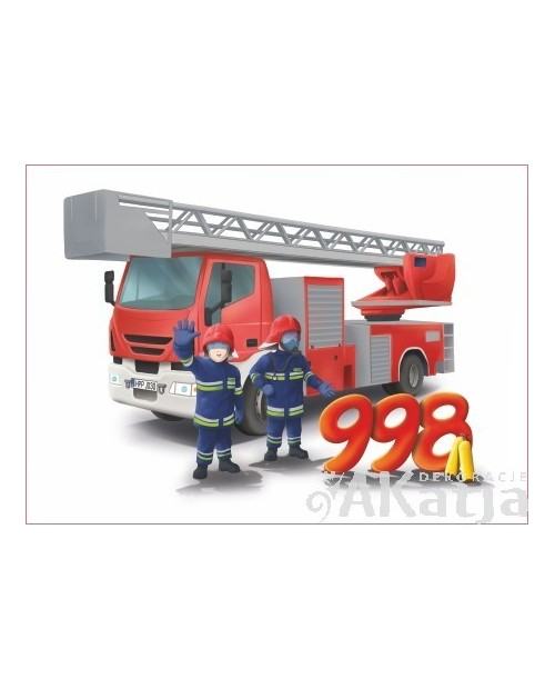 Tabliczka Numer Alarmowy Straż Pożarna
