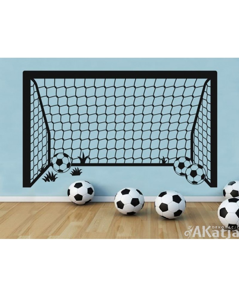 Naklejka bramka piłkarska