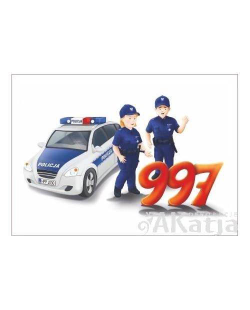 Tabliczka Numer Alarmowy Policja