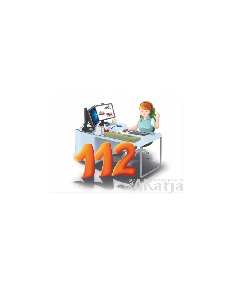 Tabliczka Numer Alarmowy 112