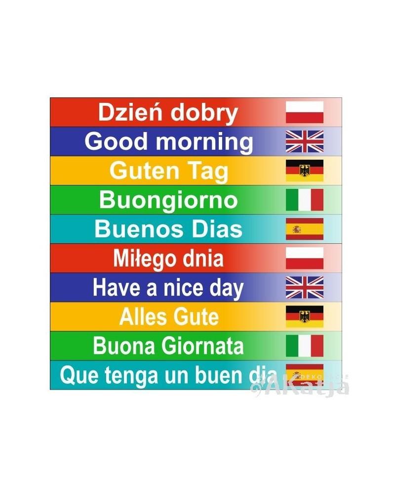 Dzień Dobry w 10 językach