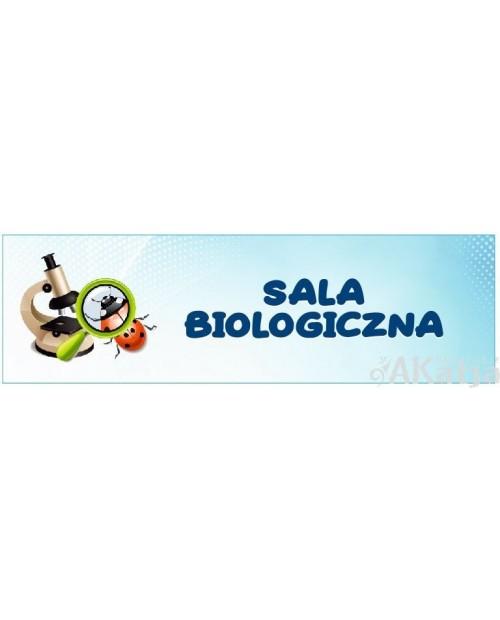 Tabliczka na Drzwi Sala Biologiczna