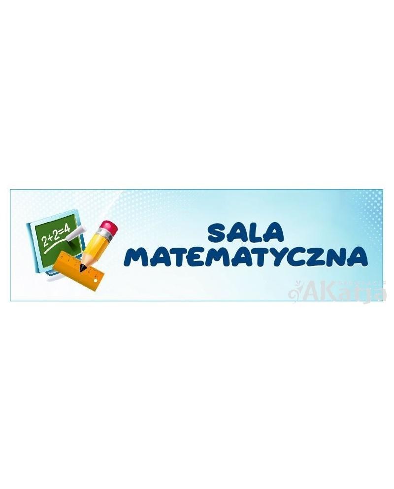 Tabliczka na Drzwi Sala Matematyczna
