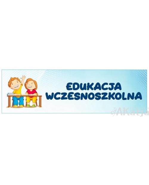 Tabliczka na Drzwi Edukacja Wczesnoszkolna