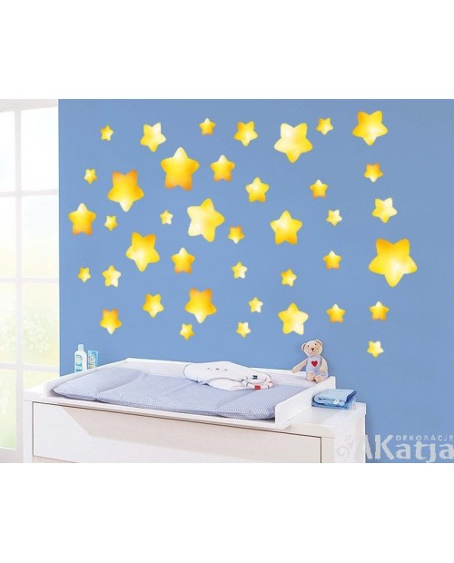 Bajkowe Gwiazdki na ścianę