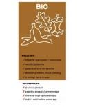Naklejka na kosz do segregacji śmieci bio 10,5x22,5cm