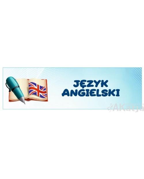 Naklejka na Drzwi  Język Angielski
