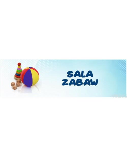 Naklejka na Drzwi Sala Zabaw