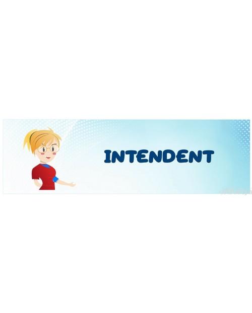 Tabliczka na Drzwi Intendent