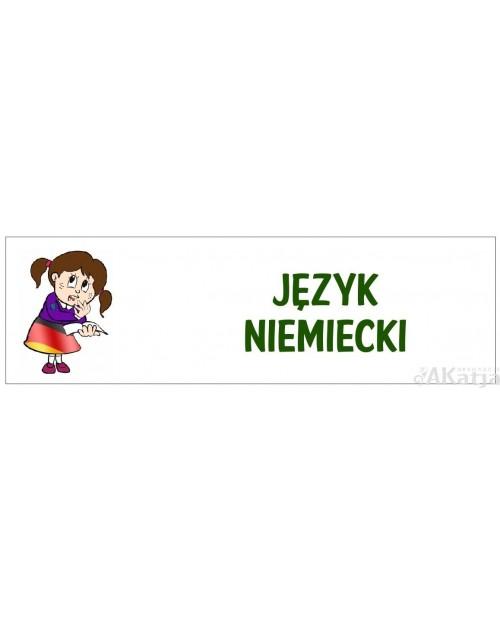 Tabliczka Szkolna na Drzwi Język Niemiecki