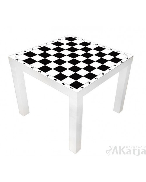 Naklejka na stolik szachy