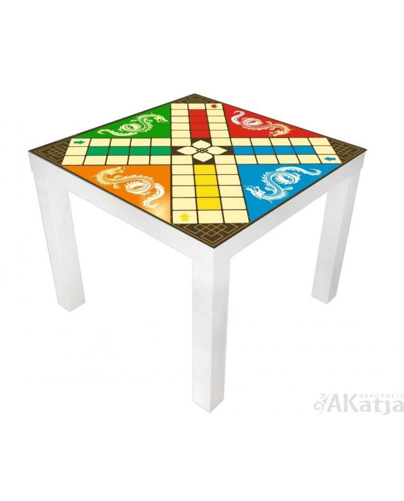 Naklejka na stolik gra chińczyk