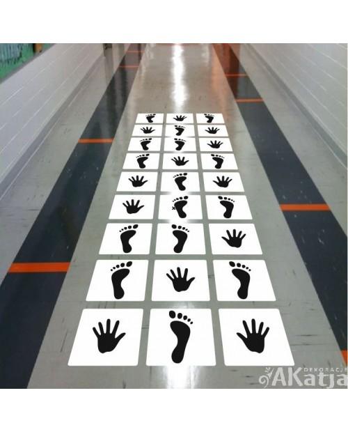 Stopy i Dłonie gra sprawnościowa